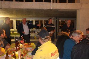 Aufrichte-Feier Gewerbehaus Weiherstrasse 16